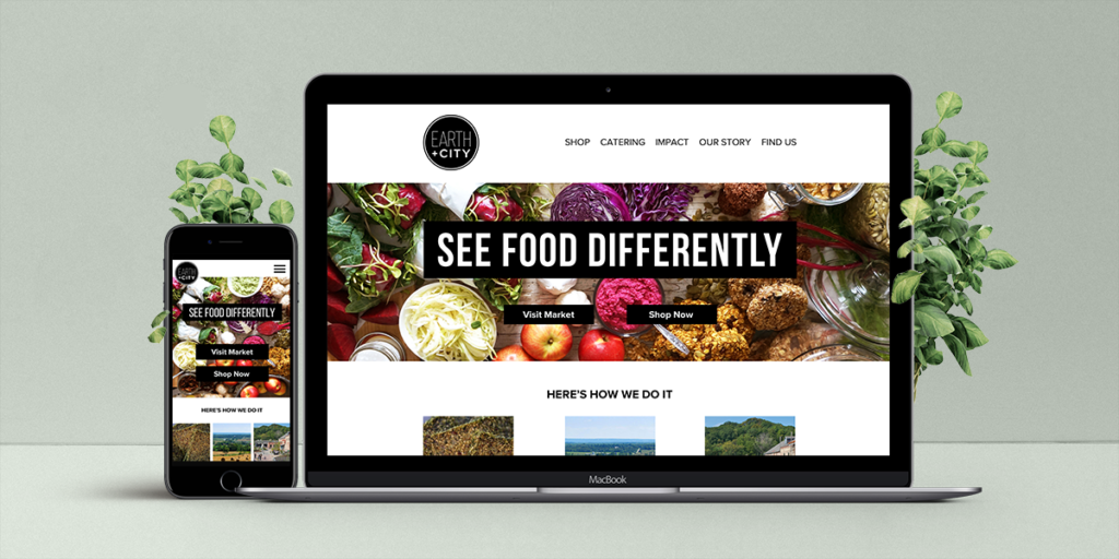 Good Food Website Re-Design